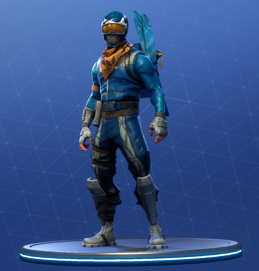 Fortnite Alpine Ace Skin: Fortnite Battle Royale Outfits & Skins Cosmetics List
