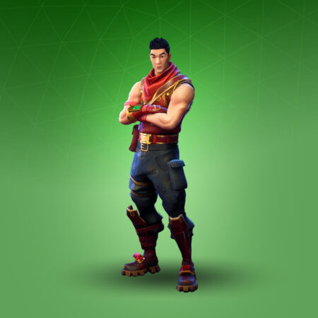 Crimson Scout skin