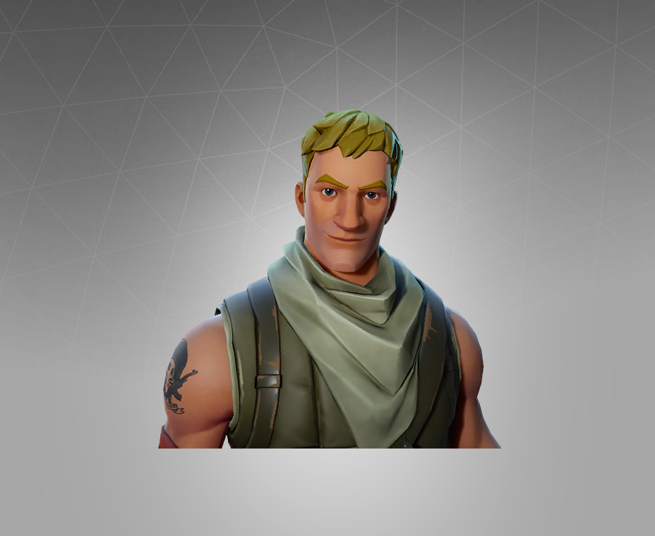 Fortnite Jonesy Skin Outfit Pngs Images Pro Game Guides