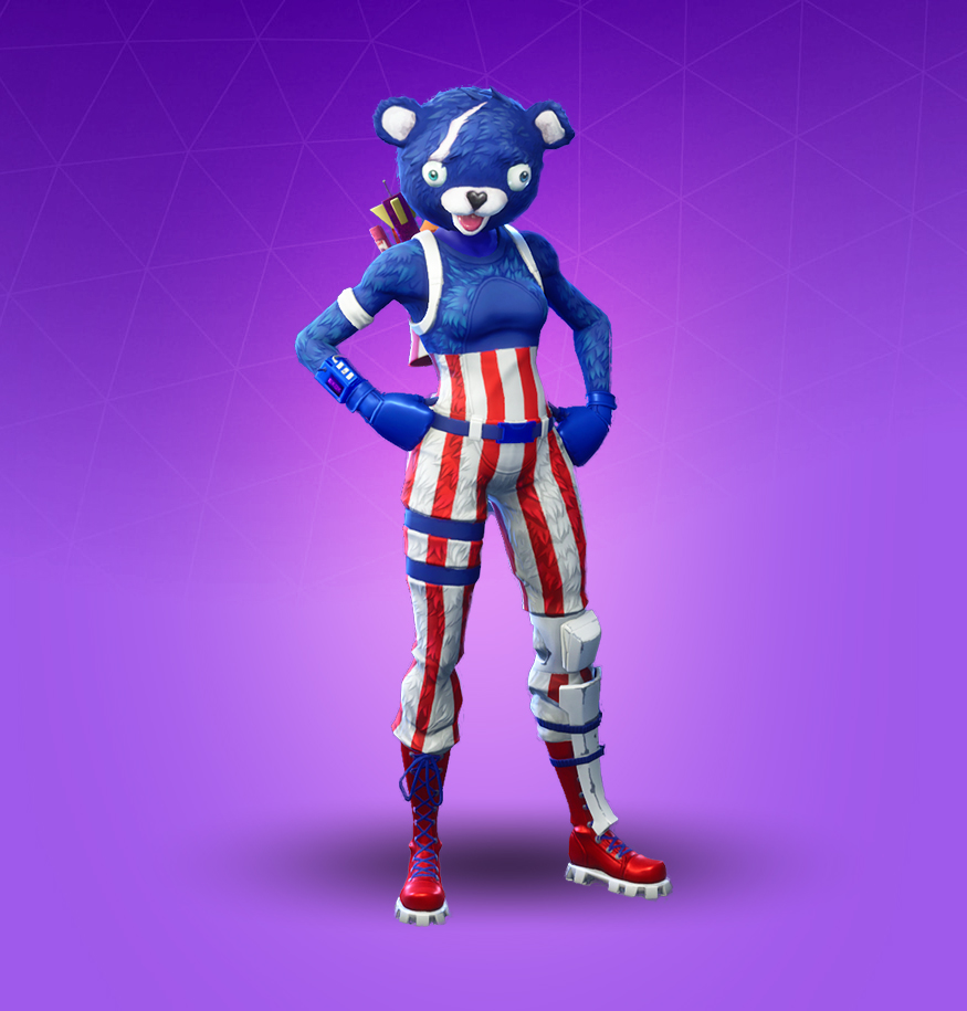 fireworks team leader - independence day skin fortnite