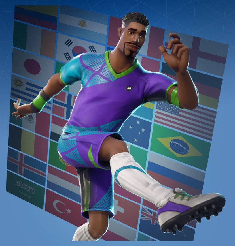 Super Striker Skin