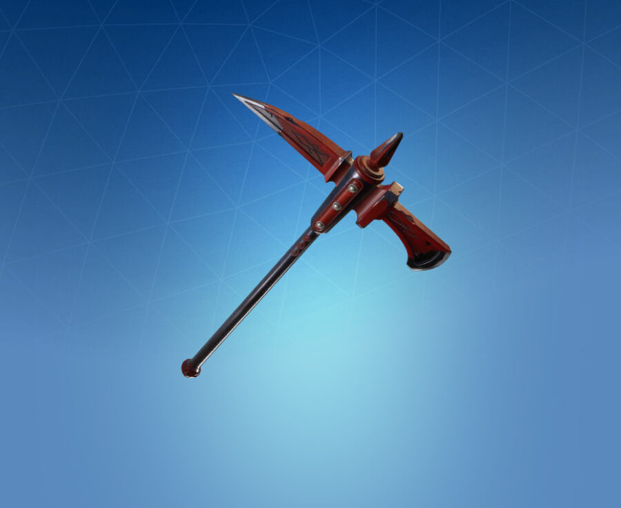 Crimson Axe Harvesting Tool