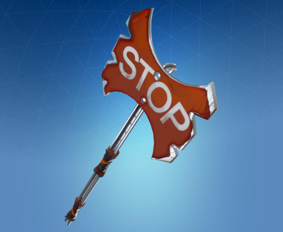 Stop Axe Harvesting Tool