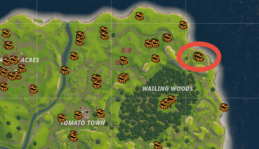 Top Places To Find The Best Loot: Fortnite Battle Royale Best Locations & Places To Land