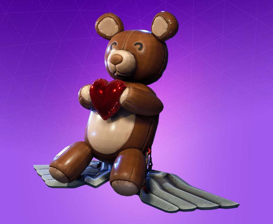 Fortnite New Teddy Bear Glider - YouTube
