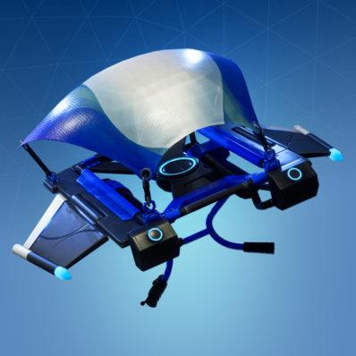 blue streak - fortnite battle royale gliders