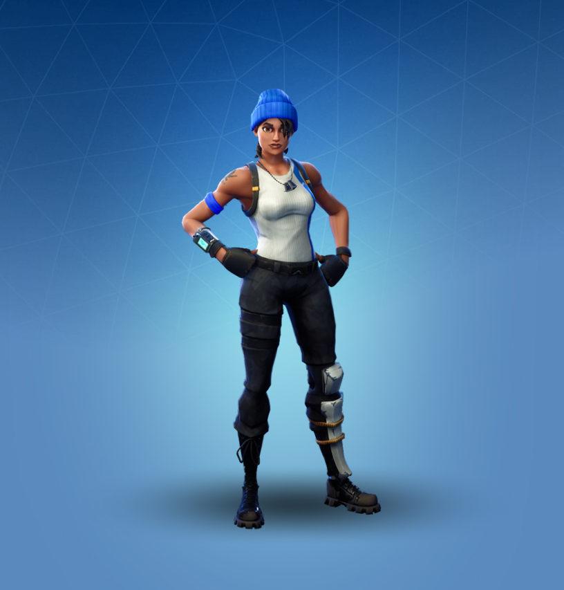 Blue Team Leader Skin