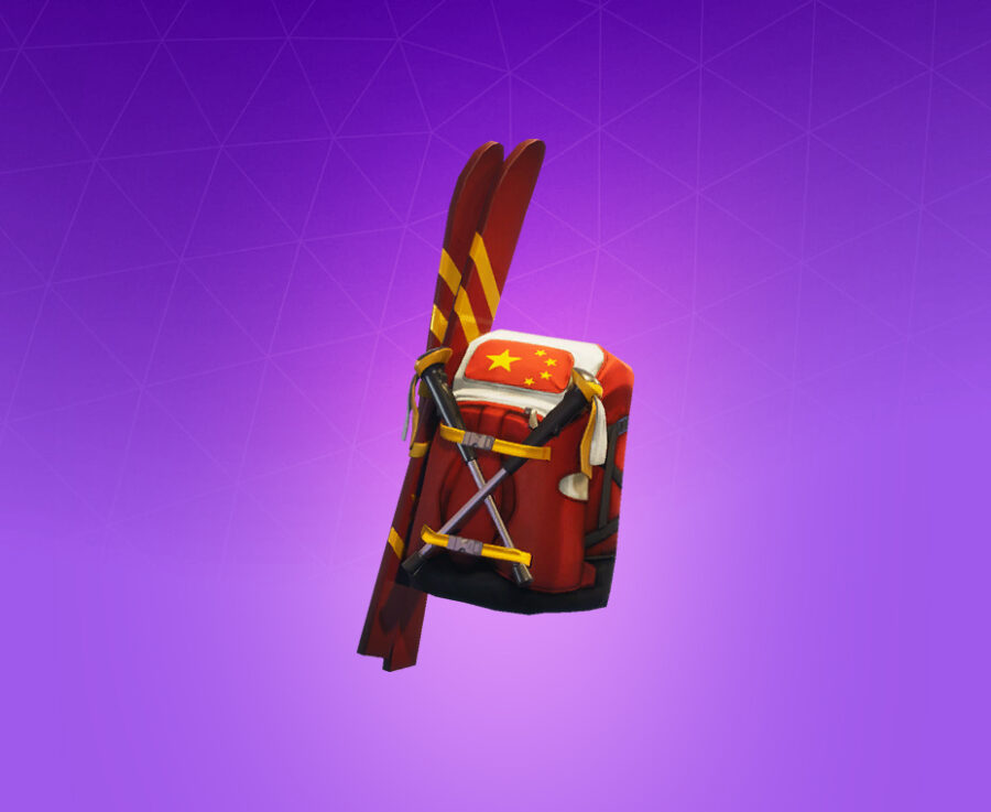 Mogul Ski Bag (CHN) Back Bling
