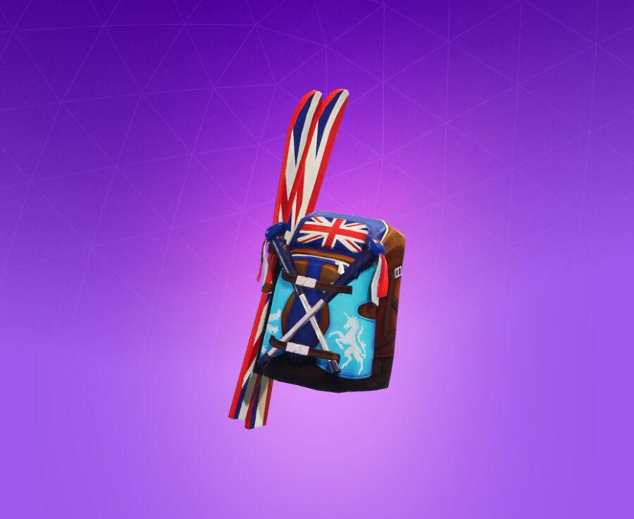 Mogul Ski Bag (GBR) Back Bling