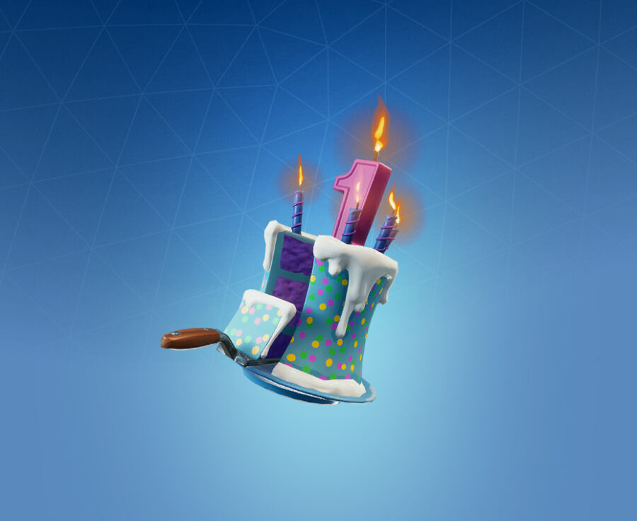 Birthday Cake Back Bling