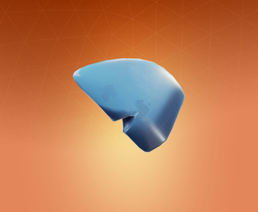 Shark Fin Back Bling