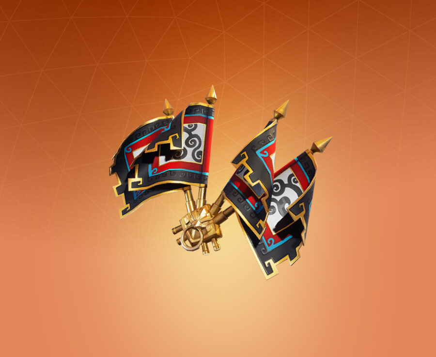 Royale Flags Back Bling
