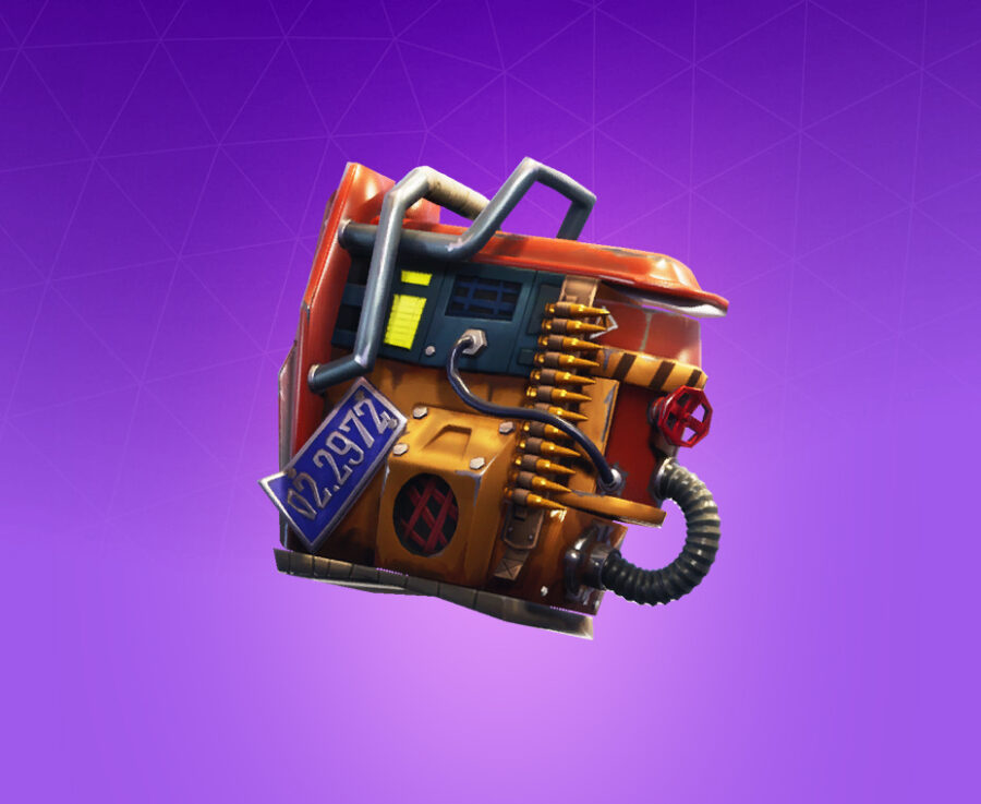 Rust Bucket Back Bling