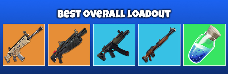 Fortnite Best Most Popular Loadouts Which Guns Should You Be