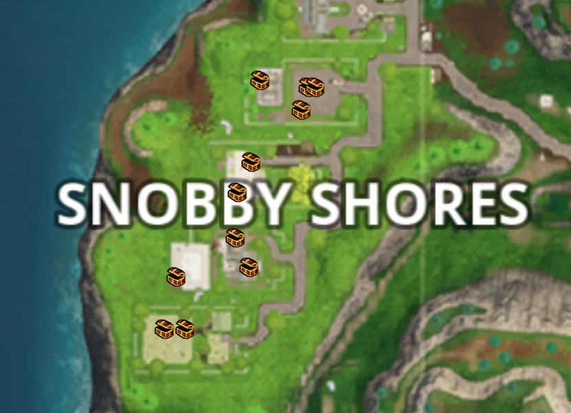 snobby shores map - photo #1