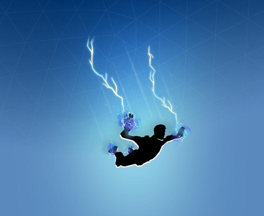 Lightning Contrail