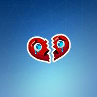 heartbreak t14 - fortnite broken heart wrap