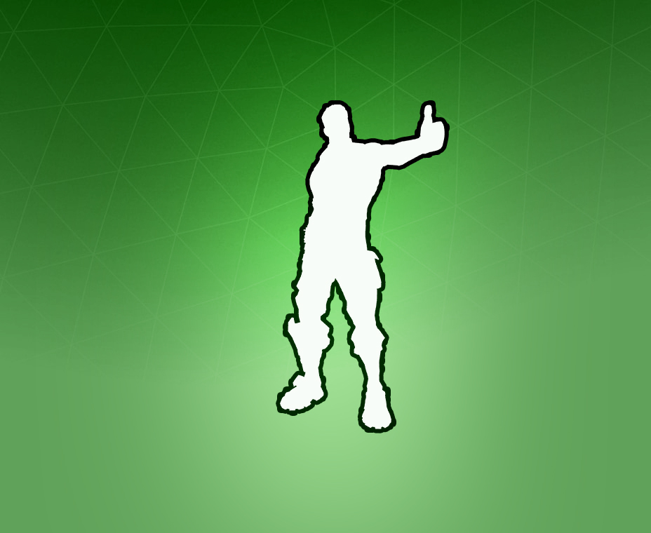 Fortnite Thumbs Up Emote