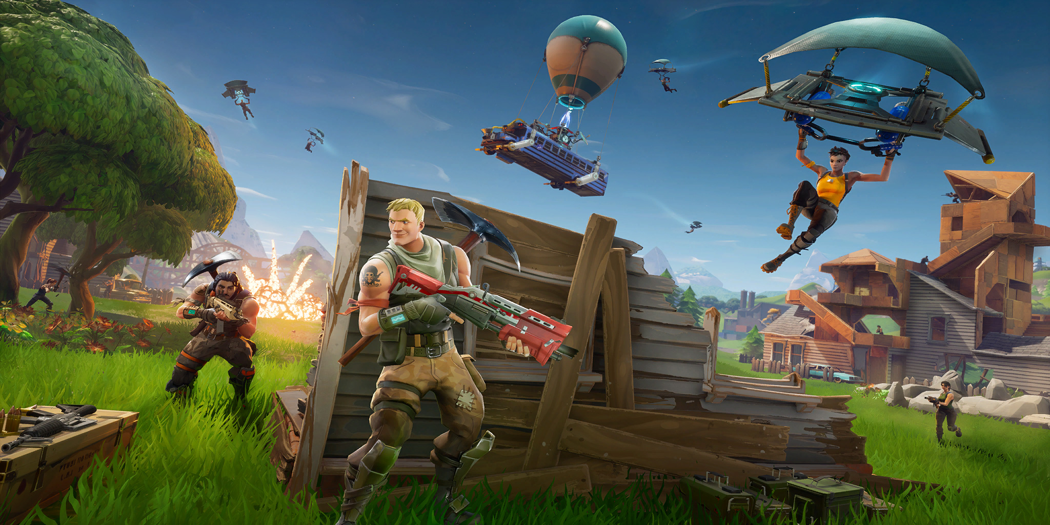 Battle Royale Loading Screen image