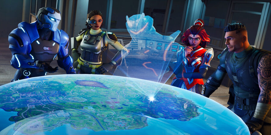 A Looming Threat Loading Screen
