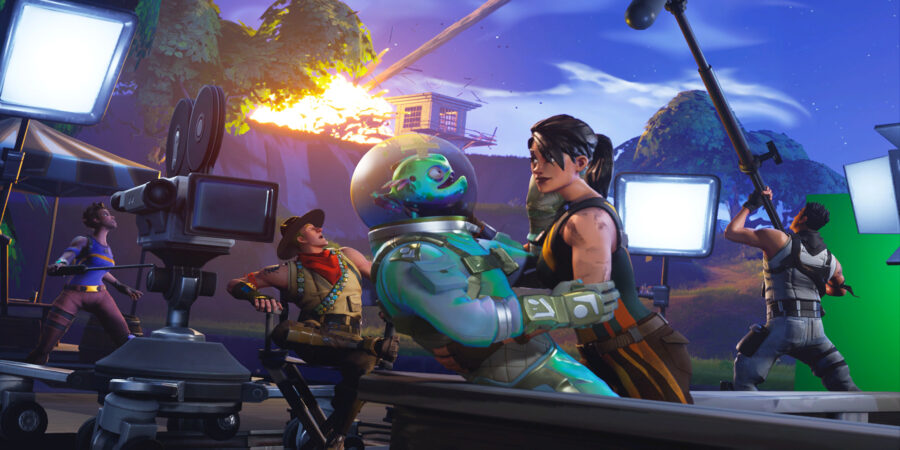 Quiet on the Set! Loading Screen