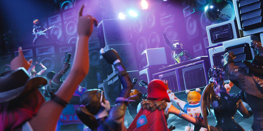 Dance Party Loading Screen