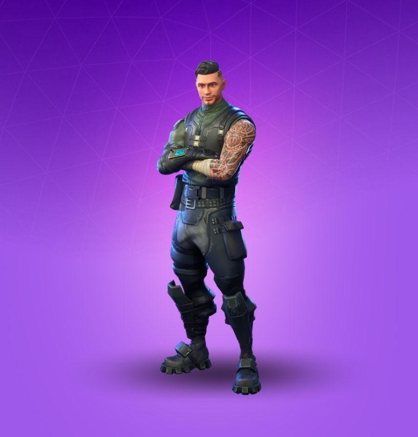 Squad Leader Skin