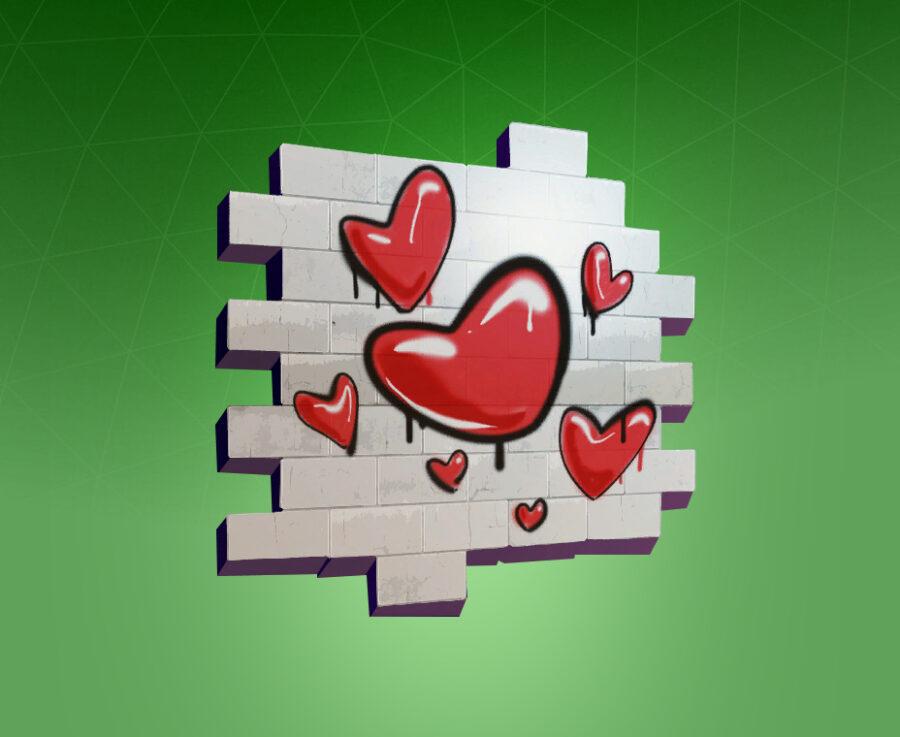 Hearts Spray