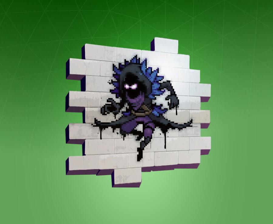 Pixel Raven Spray