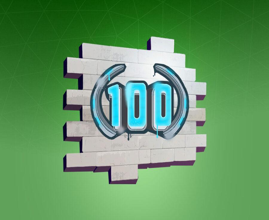 Season Level 100 (Season 9) Spray