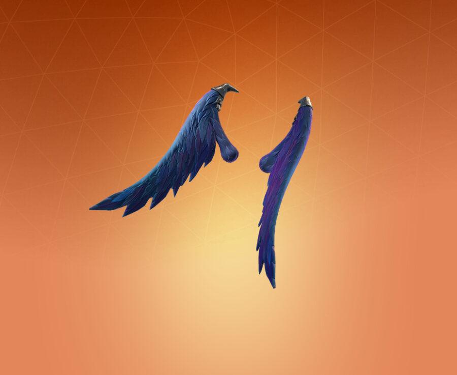 Dark Wings Back Bling