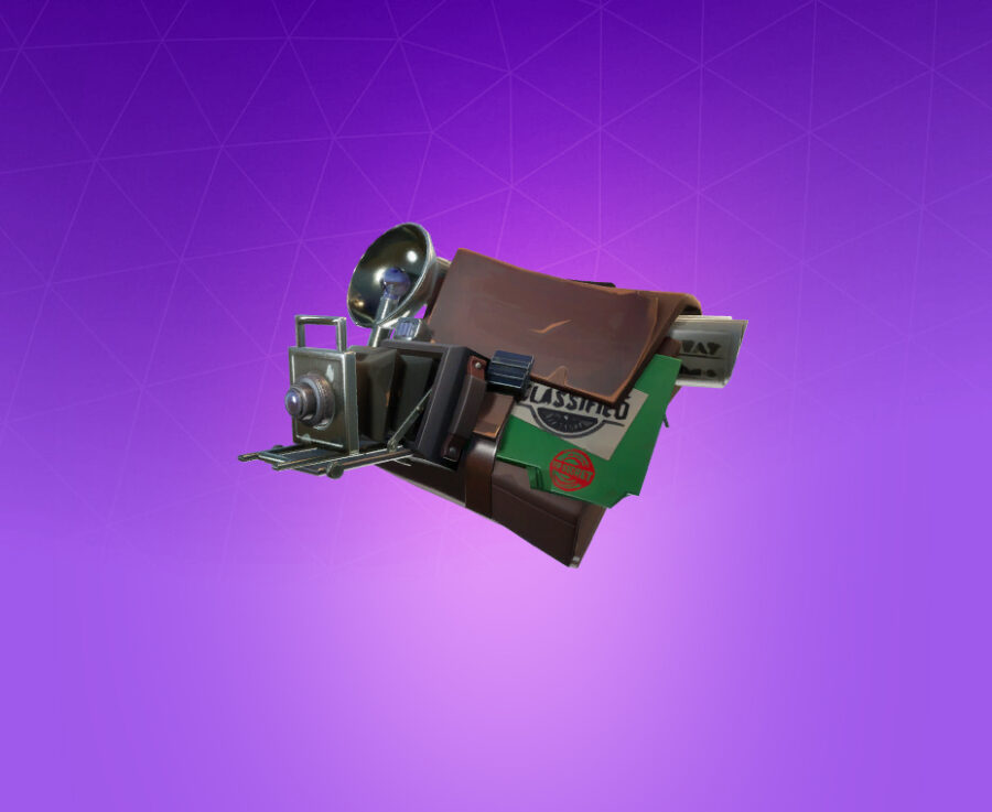 Evidence Bag Back Bling