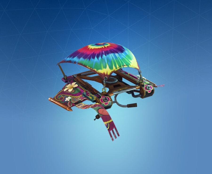 Tie-dye Flyer Glider