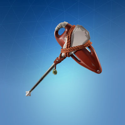 harvesting tool rescue paddle - pool party fortnite back bling