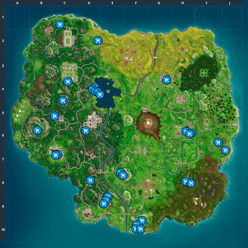 Fortnite Season 4 Week 9 Challenges Guide Pro Game Guides