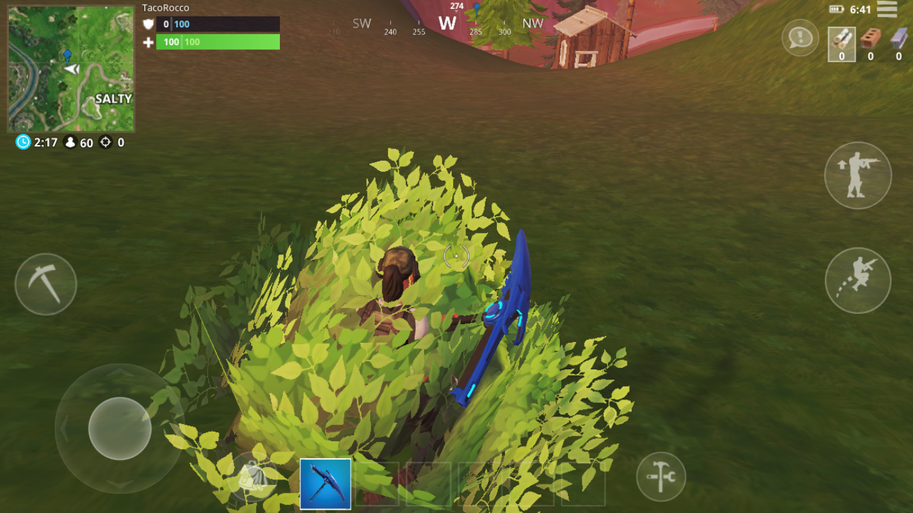 hiding well can be the difference between lasting until full xp or being eliminated i recommend hiding in a bush - how to get a lot of xp in fortnite battle royale