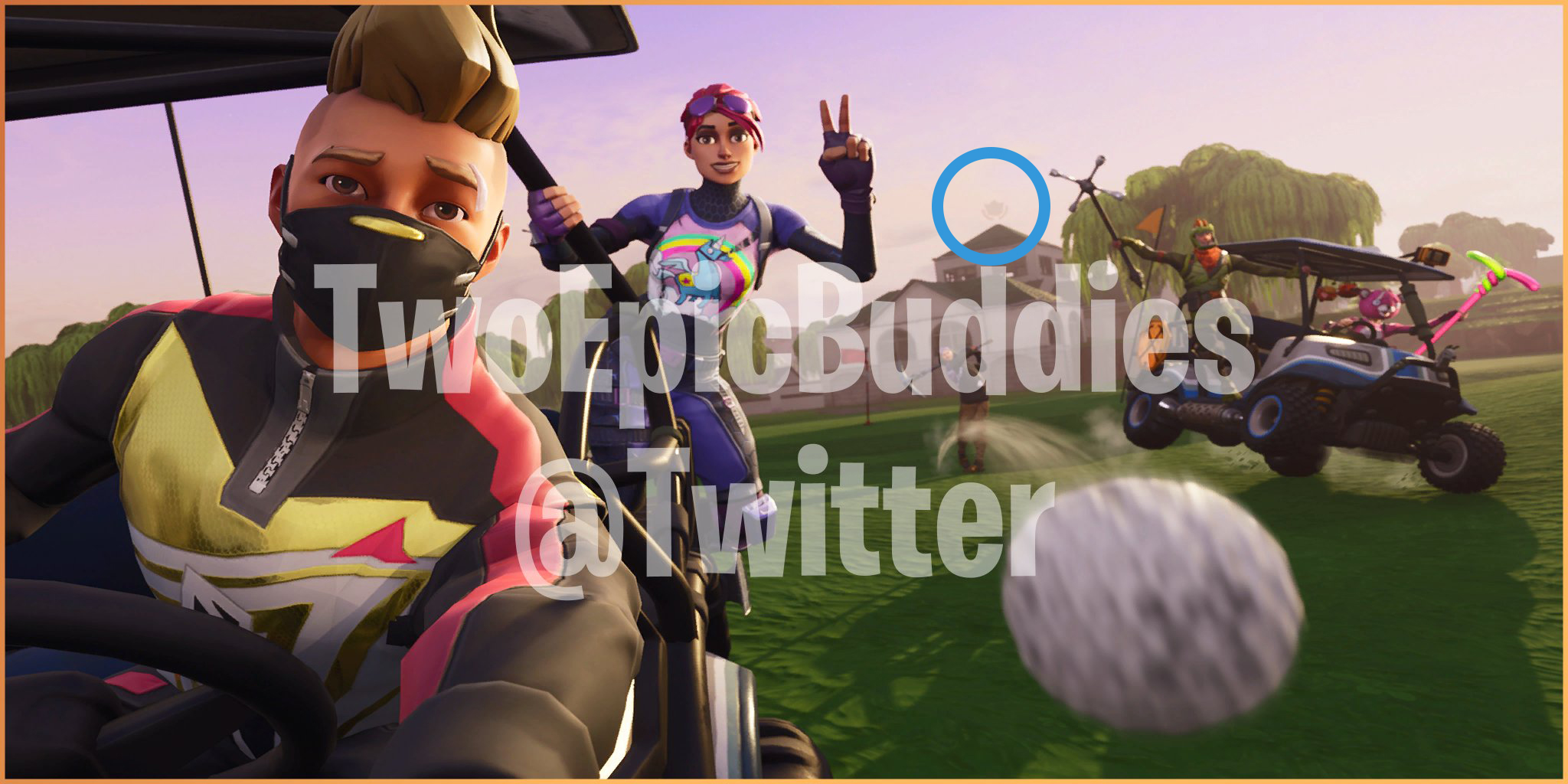 The second hidden battle star loading screen has the new guy playing some  golf with his new buddies. You can catch the small hint of the star above  the main ...