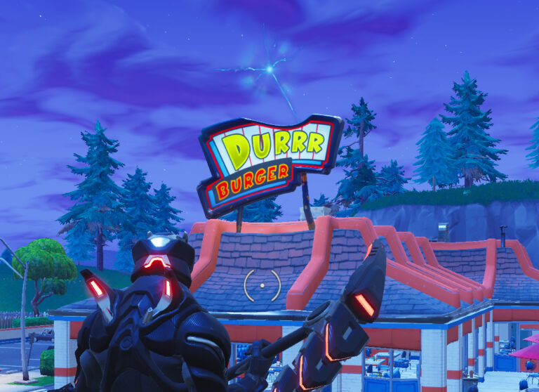 Fortnite Season 5 Durr Burger Head Gone