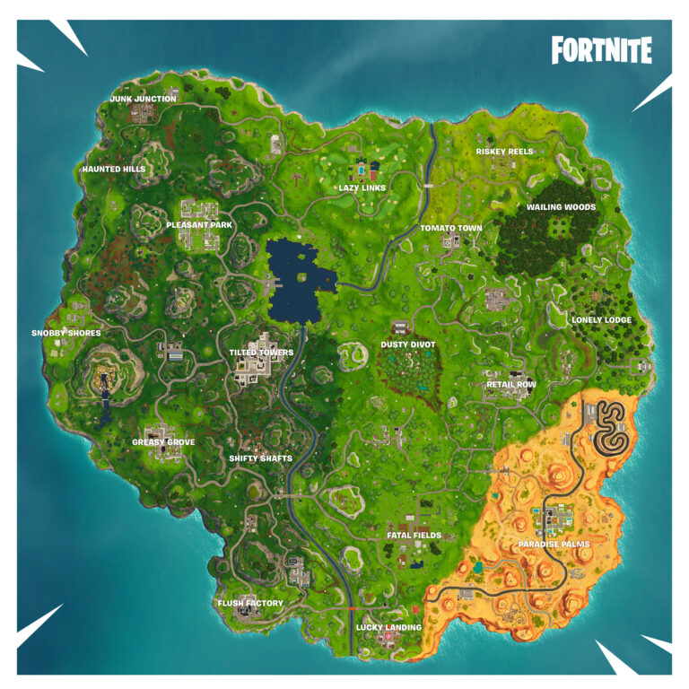 Season 5 New Map