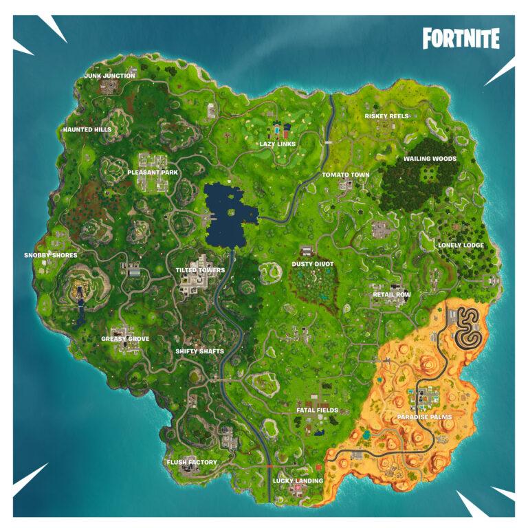 Season 5 New Map