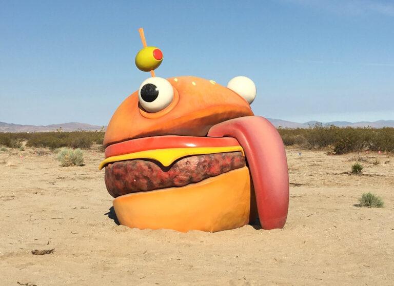 Pixel Art Fortnite Skin Durr Burger