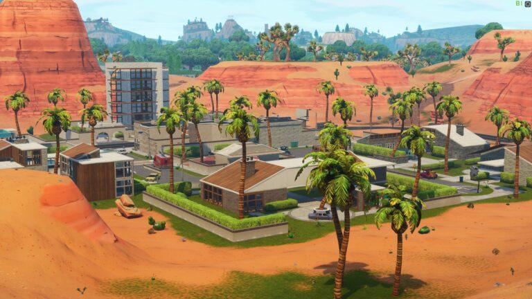 Paradise Palms Location