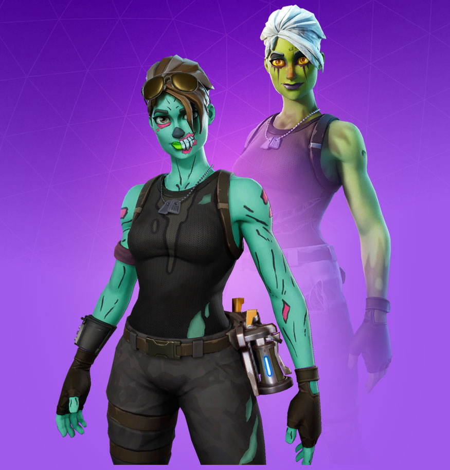 Fortnite Ghoul Trooper Skin - Character, PNG, Images - Pro Game Guides