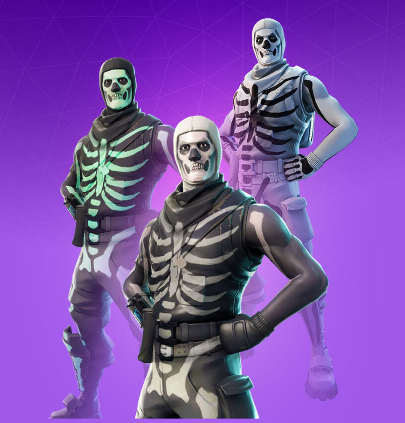 Fortnite Skull Trooper Skin Character Png Images Pro Game Guides