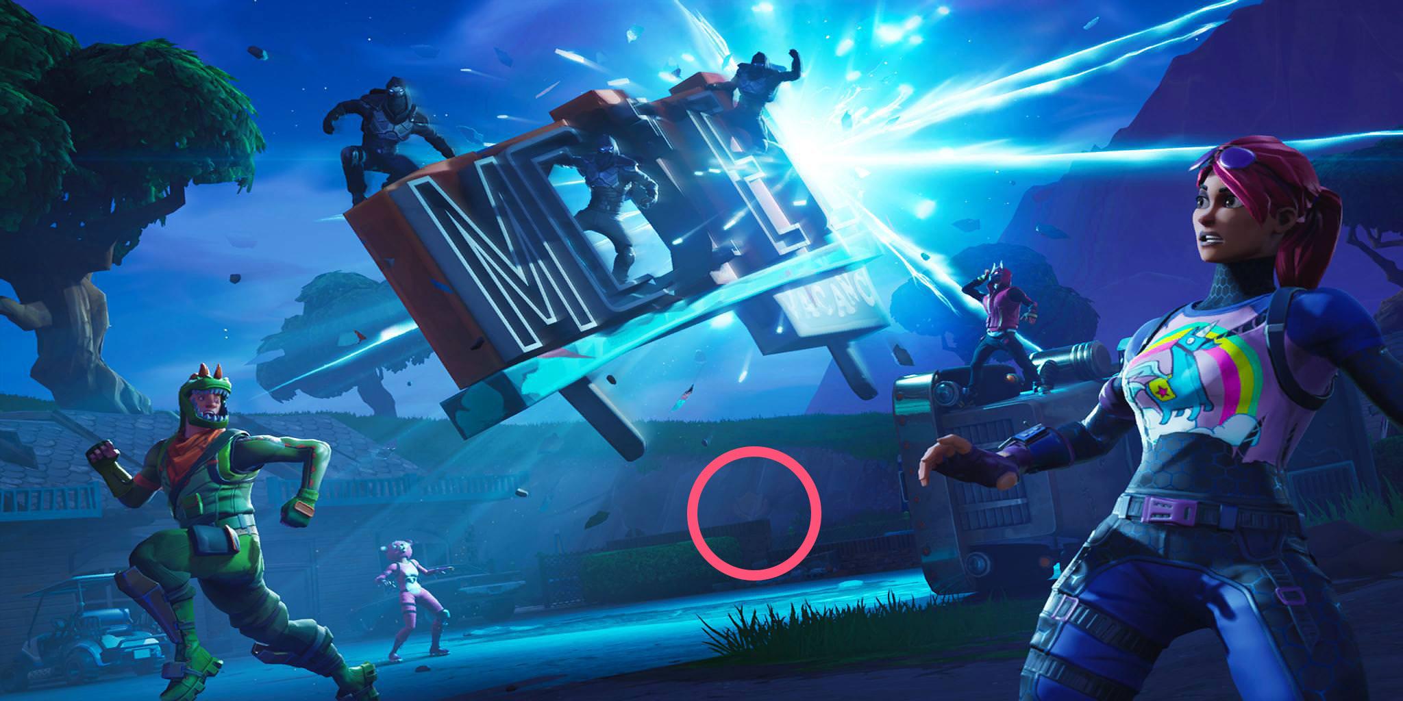 week 7 hidden battle star location - fortnite week four loading screen battle star