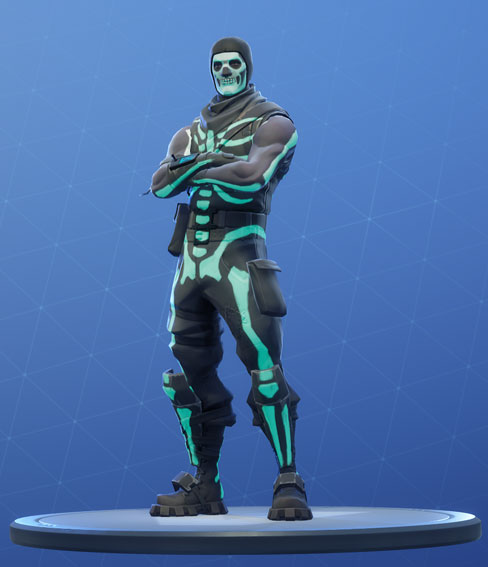 Fortnite Skull Trooper Skin - Outfit, PNGs, Images - Pro