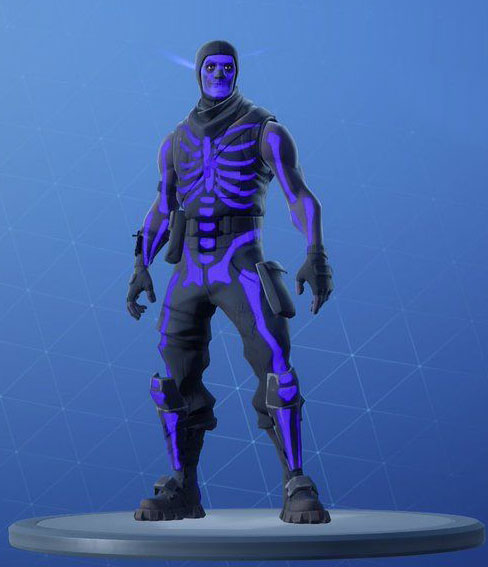 Fortnite Skull Trooper Skin - Outfit, PNGs, Images - Pro ...