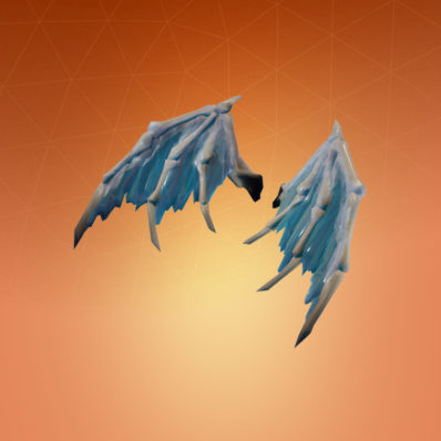 back bling valkyrie wings - frostwing fortnite price