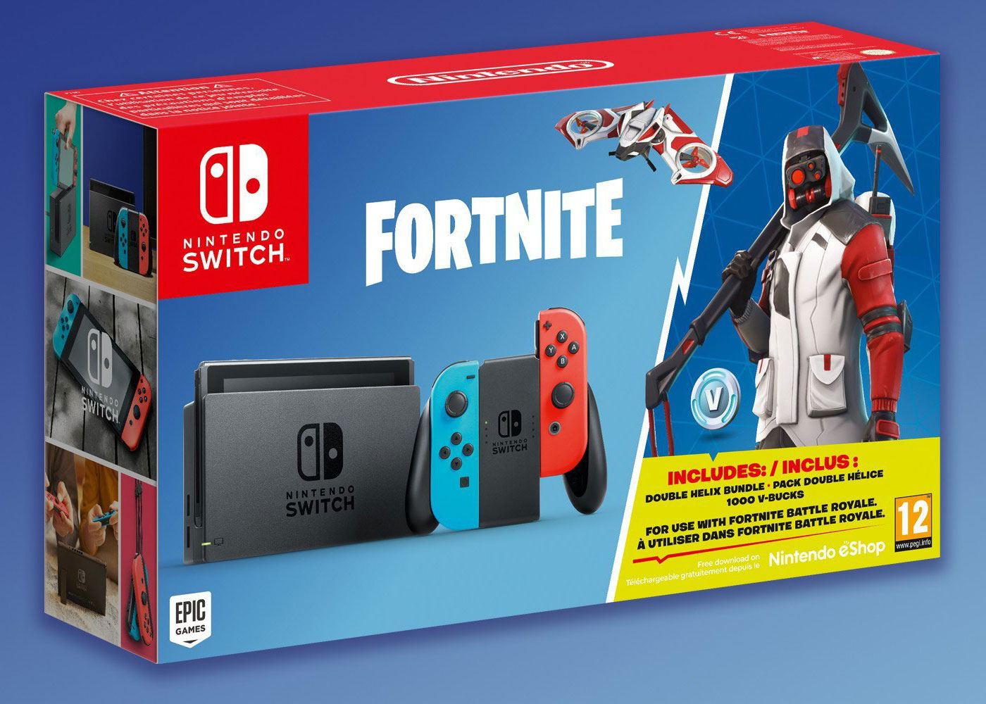 How do you get the nintendo switch exclusive fortnite skin
