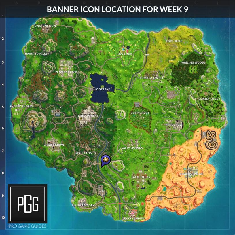 Fortnite Season 5 Week 9 Challenges List, Locations